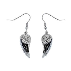Stainless Steel small wing earrings